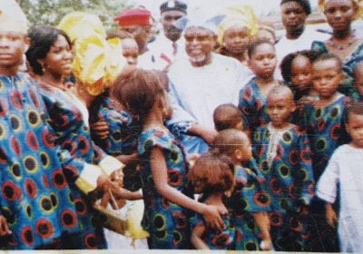 18. Baba Sala and children