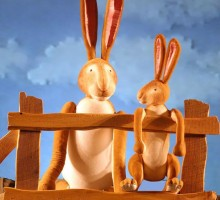 Big-&-Little-Nutbrown-Hare,-from-Guess-How-Much-I-Love-You-